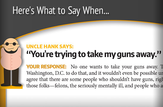 How to Talk About Guns During the Holidays