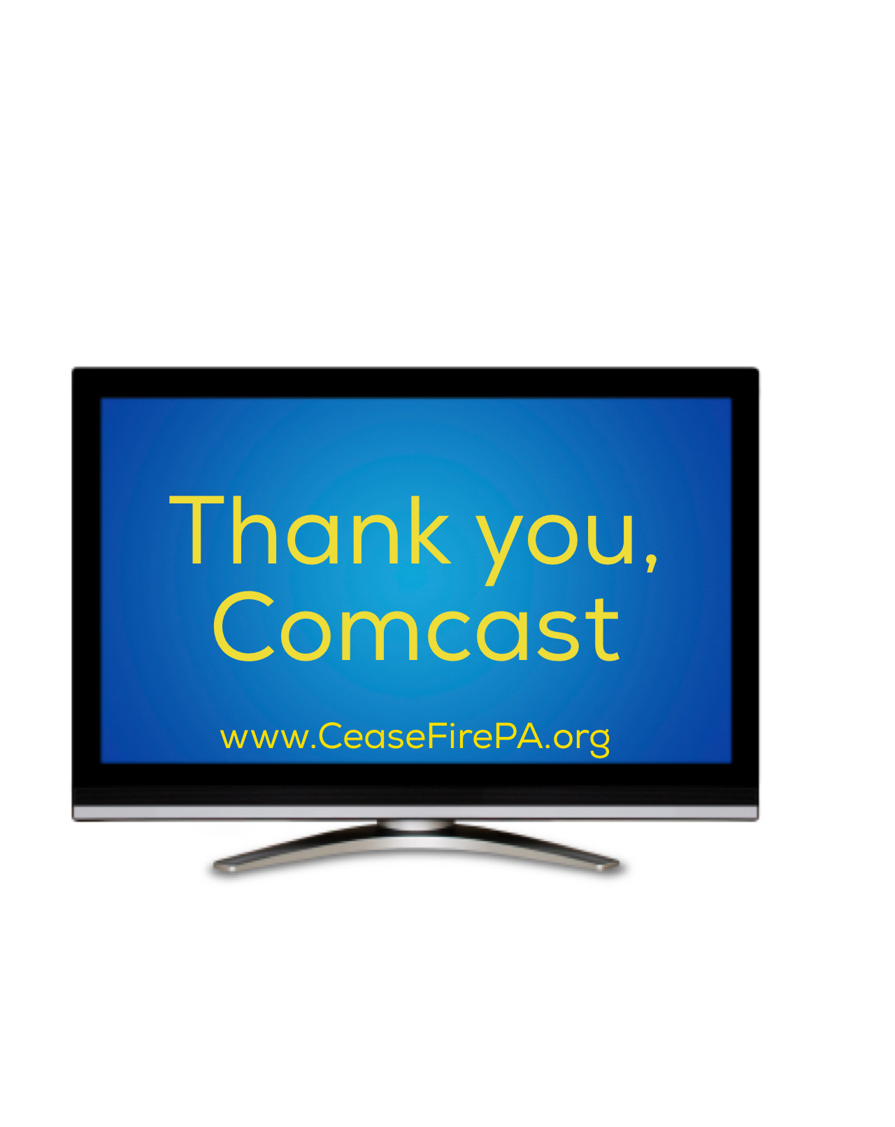 Why Are We Asking You to Thank a Cable Company?