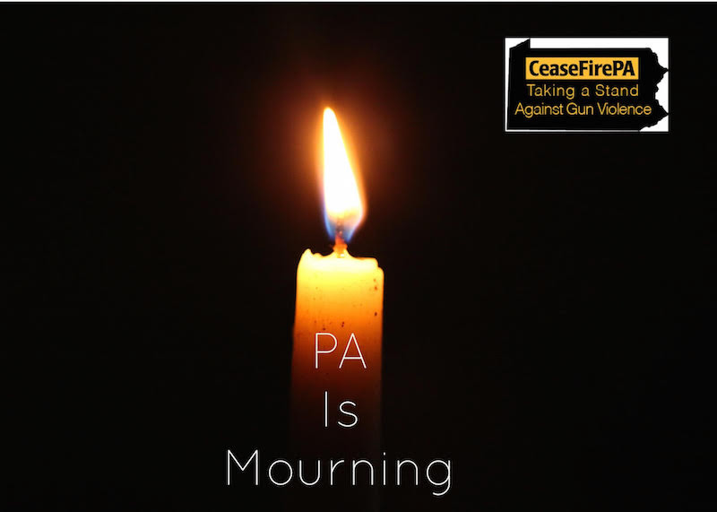 Statement of CeaseFirePA on Today's Mass Shooting at Tree of Life Synagogue