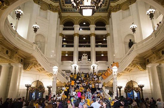 Check out our video of our May Rally in the Rotunda