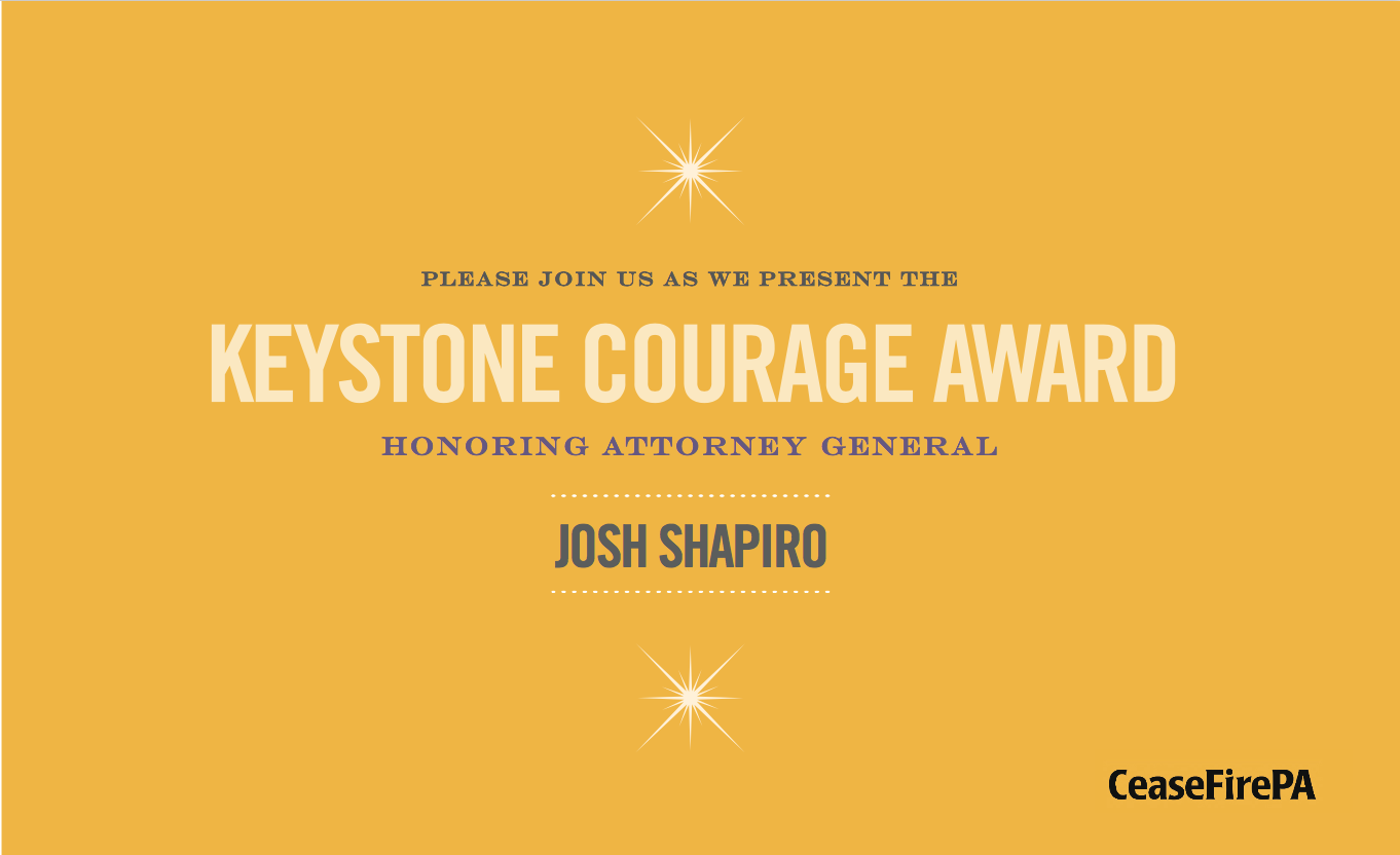 Join Us for the 2017 Keystone Courage Award