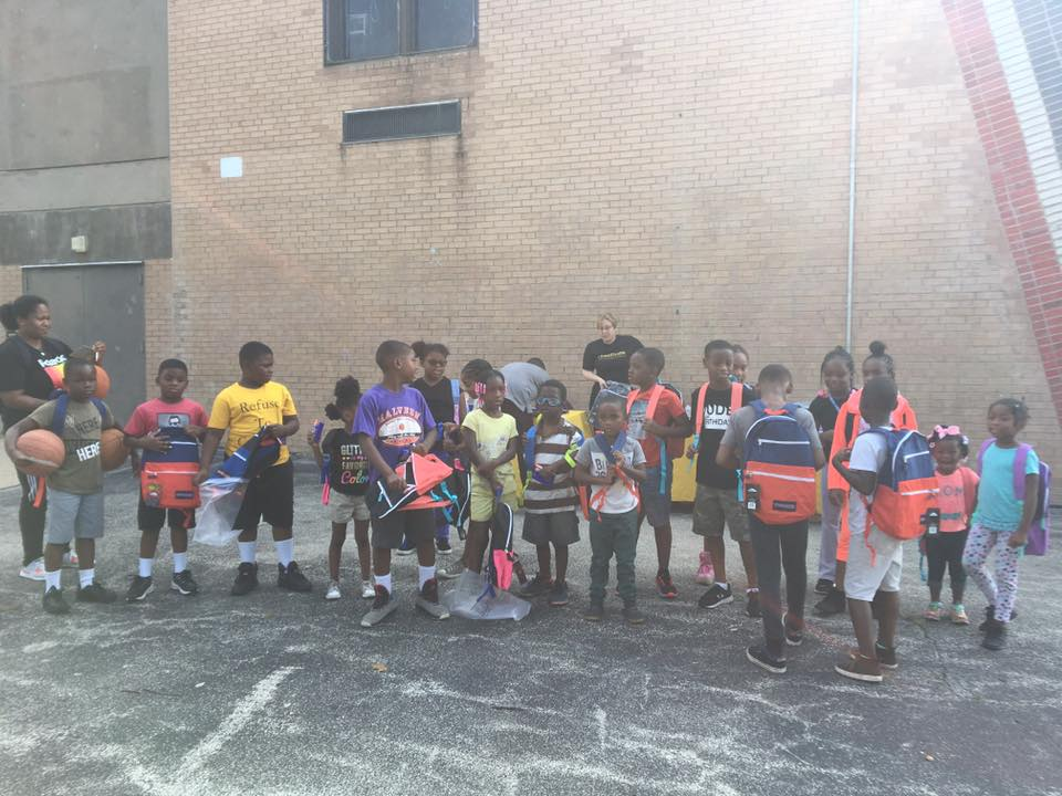 CeaseFirePA Joins Richard Wright Elementary School for Back2School Day