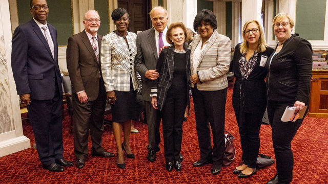 Lynne Honickman - Founder, Honickman Foundation Ed Rendell, Former Governor of Pennsylvania and Mayor of Philadelphia Council President Darrell L. Clarke (5th District) Councilwoman Jannie L. Blackwell (3rd District) Councilwoman Cherelle Parker (9th District) Councilman Bill Greenlee (At Large) Shira Goodman - Executive Director, CeaseFirePA