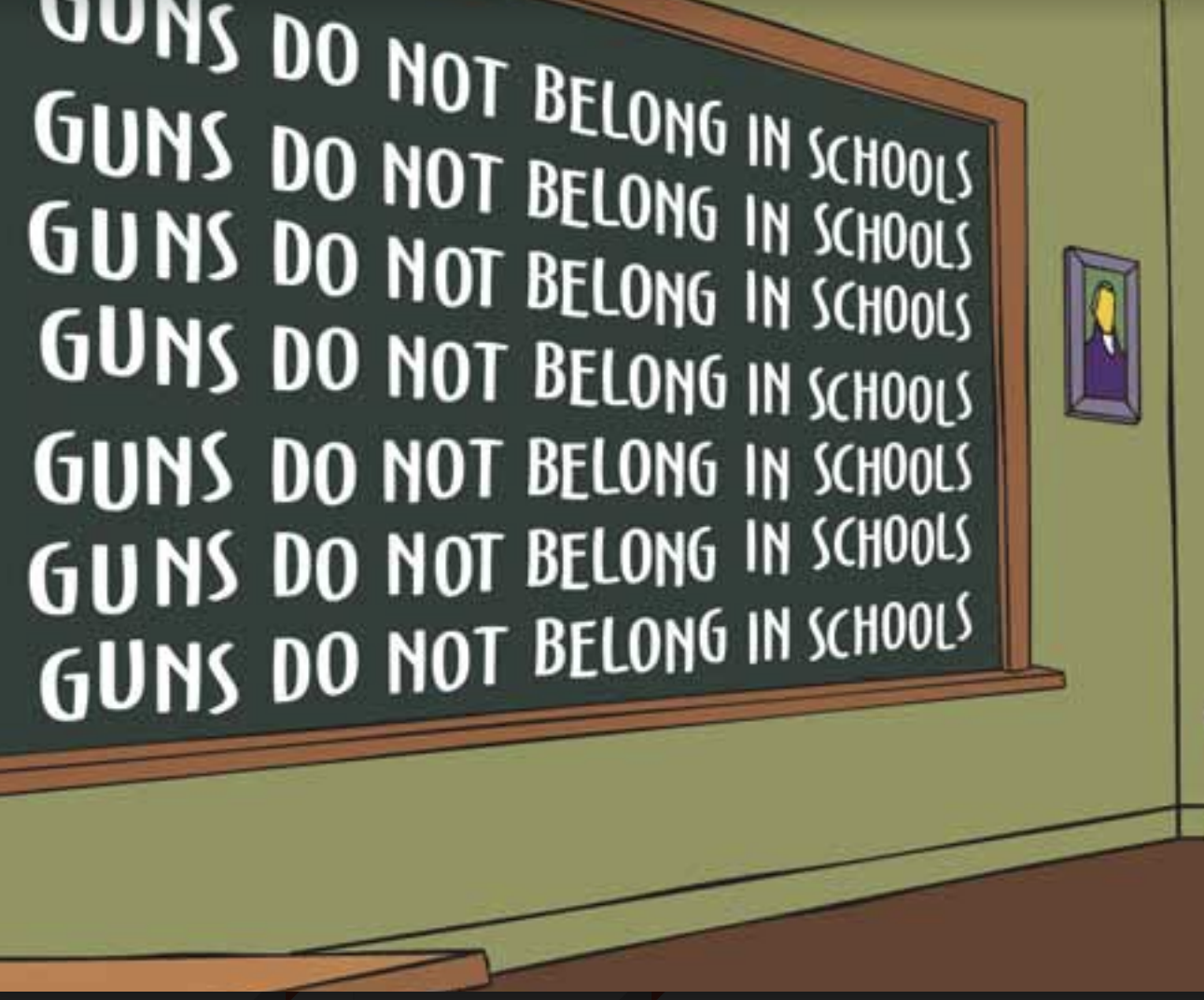 We Must Reject Guns in Schools
