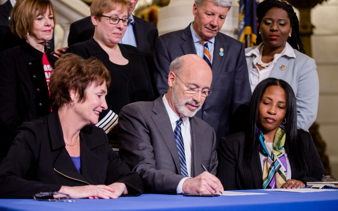 Governor Wolf, CeaseFirePA, and Advocates Celebrate Signing of Act 79