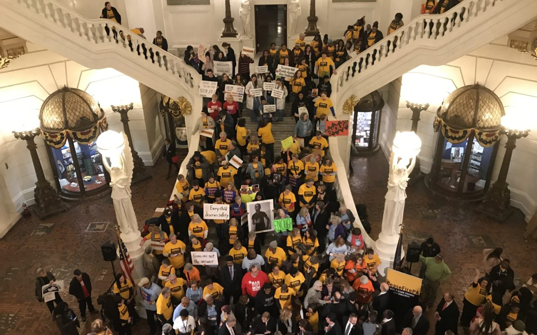 CeaseFirePA's Rally in the Capital Demanding Action to Fight Gun Violence