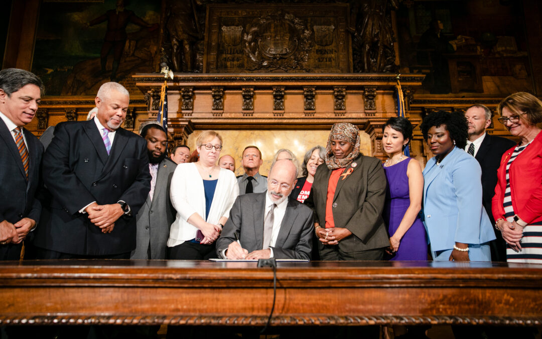 Governor Wolf Signs Gun Violence Executive Order