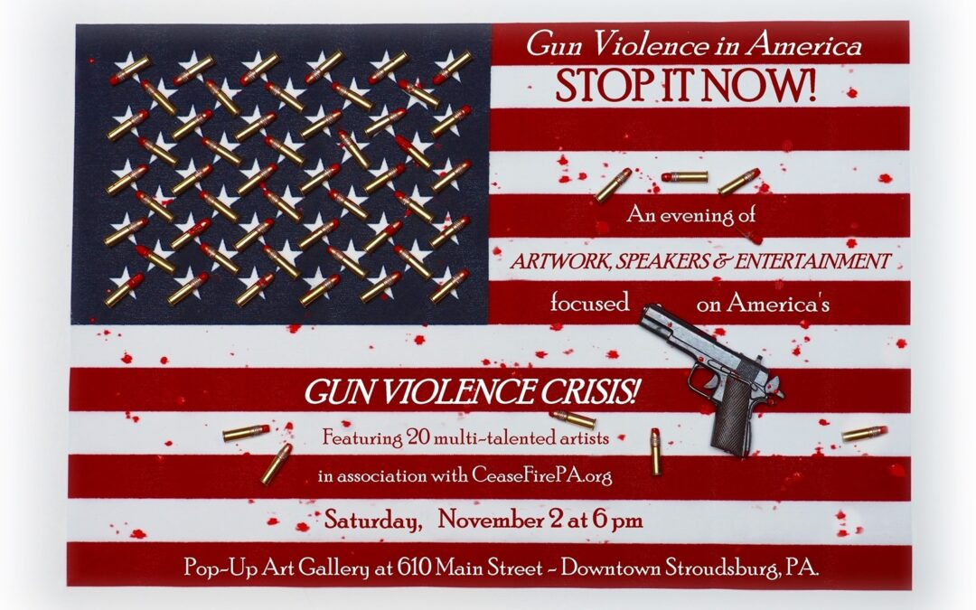 Stroudsburg Gun Violence Awareness Art Event