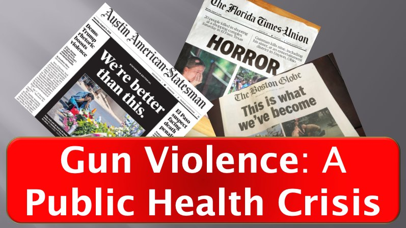Lehigh Valley Event: Gun Violence is a Public Health Epidemic