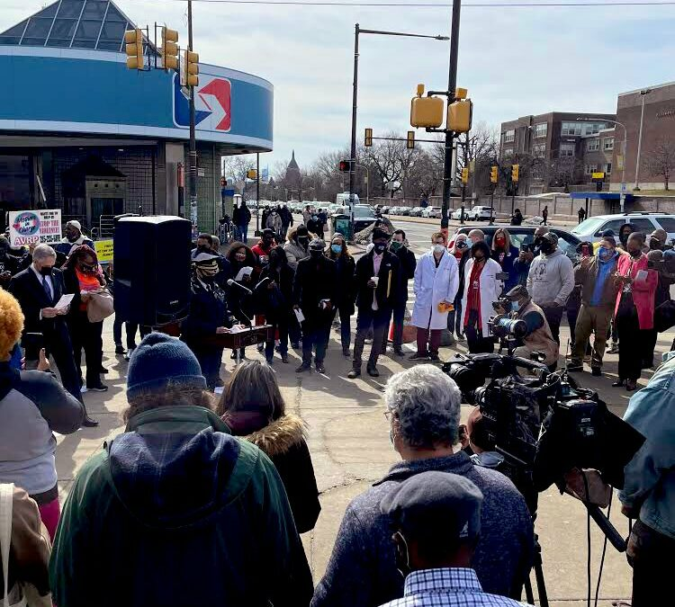 Philadelphia & State Leaders Demand Safety From Gun Violence after Major Shooting